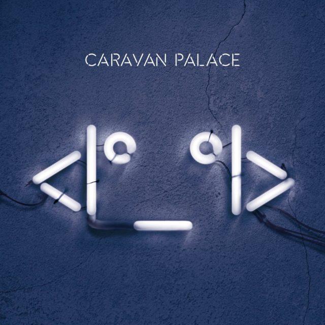 Caravan Palace robot
