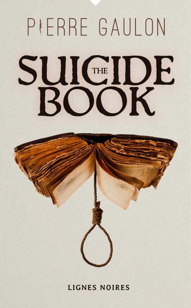 Pierre Gaulon, The Suicide Book, lignes noires